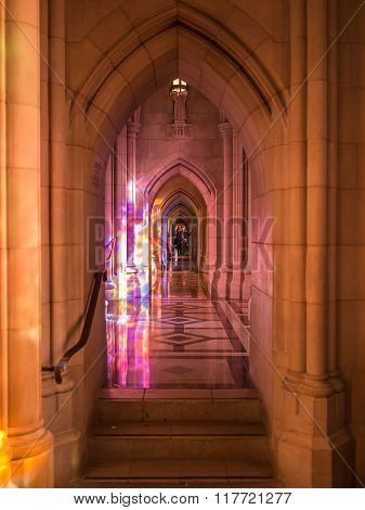 Washington D.C. - December 26 2014: Washington National Cathedral. The cathedral is an Episcopal Church located in Washington D.C.
