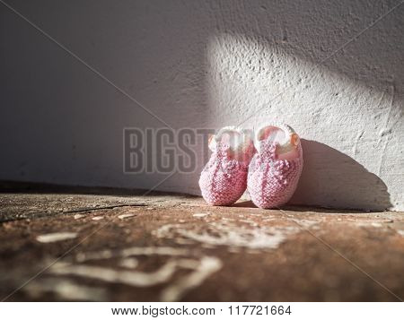 A Pair of Pinky Shoes
