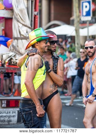 Friends On The Pride Parade