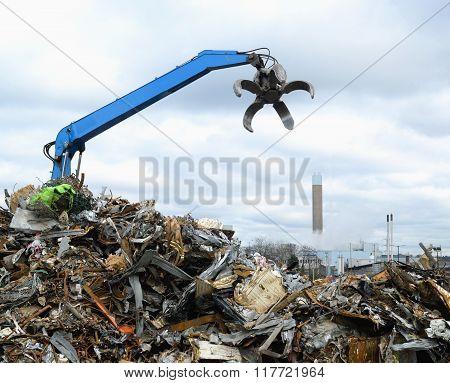 Hydraulic Clow Crane