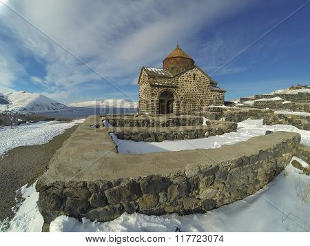 Sevanavank Monastery In Winter
