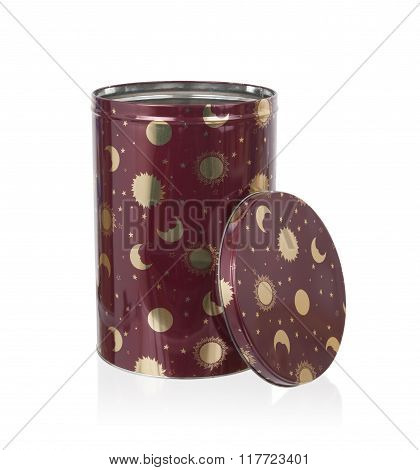 Metal Tin Kitchen Canister