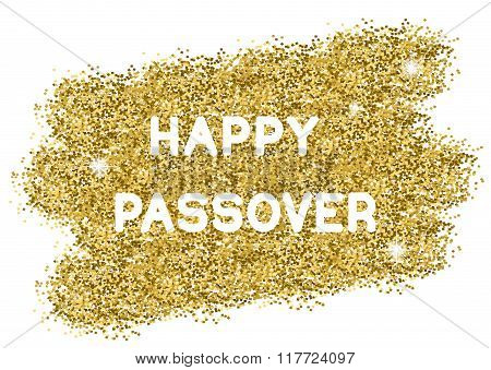 Passover Gold Background