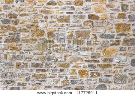 Antique Natural Stone Wall