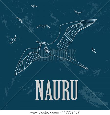 Nauru infographics, statistical data, sights