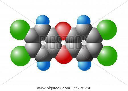 Molecule Of Dioxin