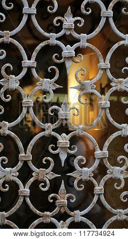 Ornamental Window Guard With Bars
