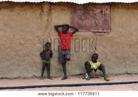 Little Himba Boys, Namibia