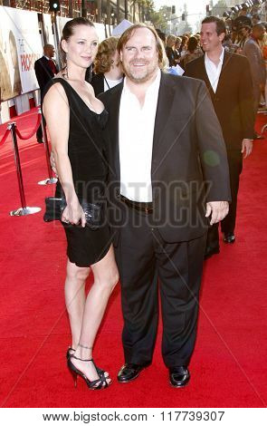 Kevin Farley and Fay Byrd at the Los Angeles premiere of