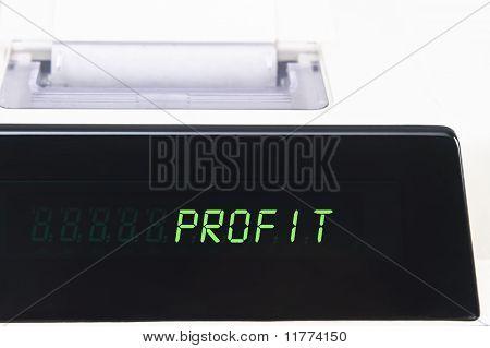 Calculator Display - Profit