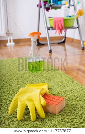 Carpet Cleaning Concept