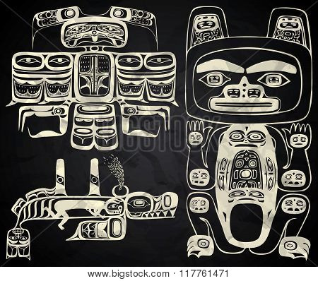 North America and Canada native art