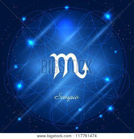 Scorpio sign of the zodiac