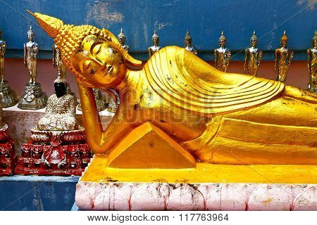 Siddharta   In The Temple Bangkok Asia   Thailand Stretch