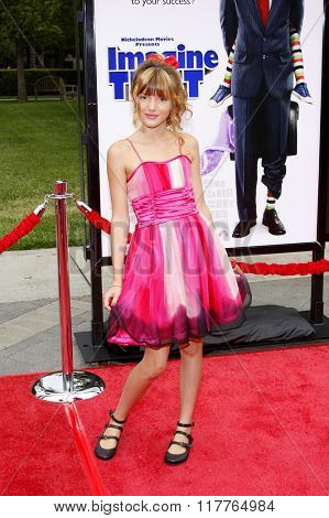 Bella Thorne at the Los Angeles Premiere of