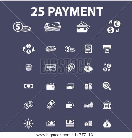 payment, money, banking icons