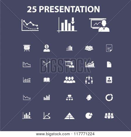 marketing presentation icons