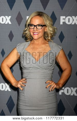 LOS ANGELES - JAN 15:  Rachael Harris at the FOX Winter TCA 2016 All-Star Party at the Langham Huntington Hotel on January 15, 2016 in Pasadena, CA