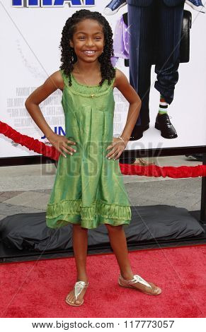 Yara Shahidi at the Los Angeles Premiere of