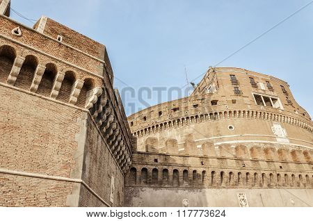 Rome Castel Sant Angelo Close Up