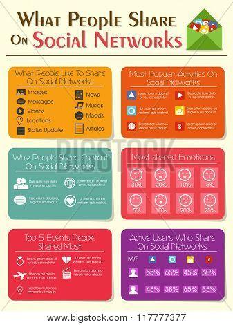 Creative Template, Banner or Flyer design for Social Network concept.