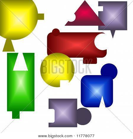 Puzzle design art