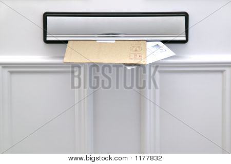 Letterbox And Letters