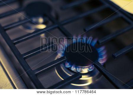 Steel Gas Stove