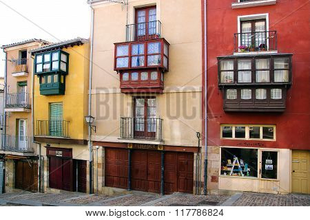 ZAMORA, SPAIN - JUNE 07,2014: Medieval town centre. Zamora is the city with the highest concentratio