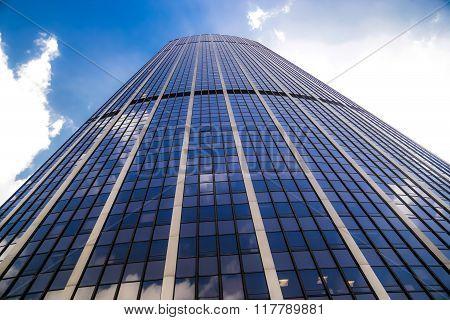 Buissness Skyscraper Glass Reflect Sky