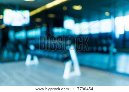 Gym Blur Background