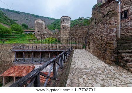 David Gareja Monastery. David Gareja is a rock-hewn complex and one of the major landmarks of the re