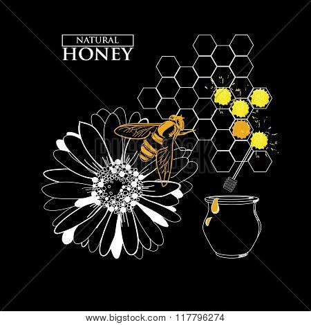 Design elements for honey design