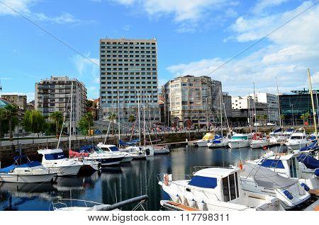 Port of Vigo (Galicia, Spain)
