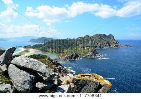 Alto del Principe viewpoint (Islas Cies, Spain)