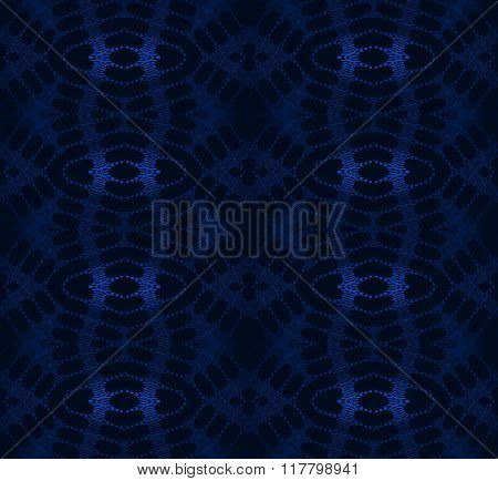 Seamless diamond pattern dark blue black