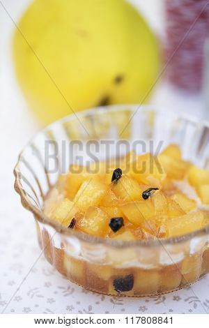 Quince and Barberries Jam