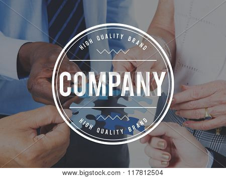 Company Organization Firm Business Management Concept