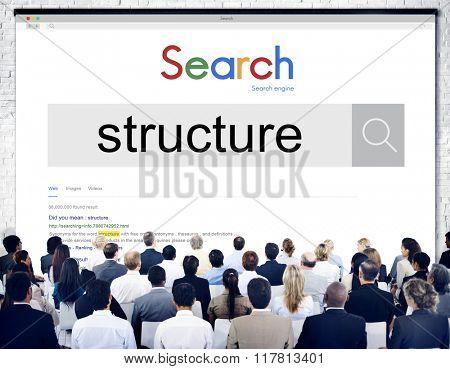 Structure Organization Management Corporate Company Concept