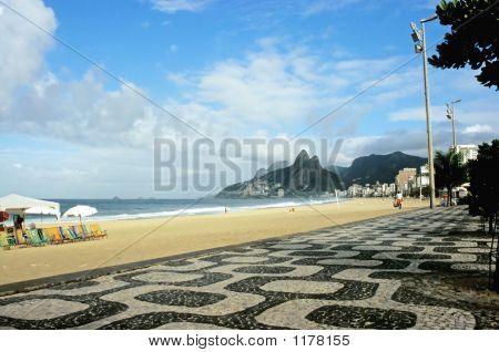 Paseo marítimo de Ipanema, Rio De Janeiro, Brasil
