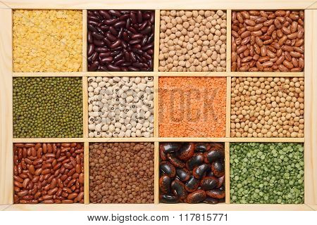 Set of various pulses