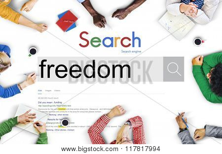 Free Freedom Independence Peace Rights Liberty Concept