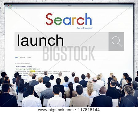 Group of People Search Seminar Presentation Concept