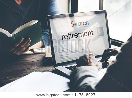 Retirement Plam Wealth Worth Security Management Concept