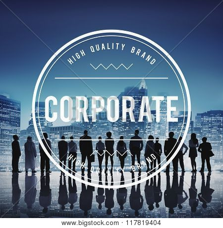 Corporate Business Team Together Concept