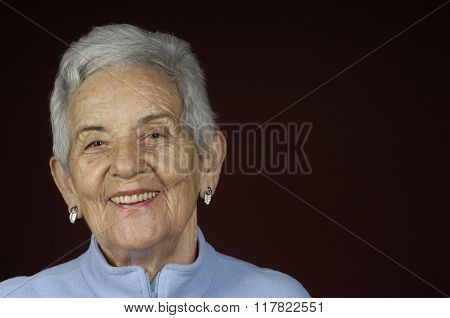 Portriat Of A Senior Woman