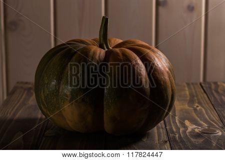 Round Flattened Squash