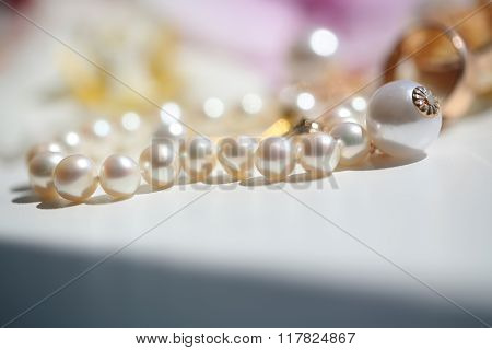 Splendid Wedding Vintage Pearl Bracelet