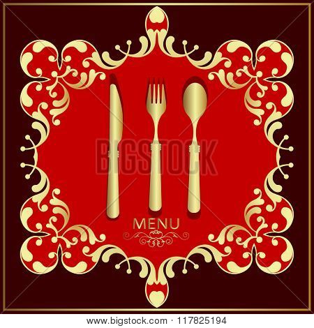 Menu Card Design Template