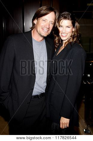 Kevin Sorbo and Sam Jenkins at the 2009 Noche De Ninos Gala held at the Beverly Hilton Hotel in Beverly Hills, USA on May 9, 2009.